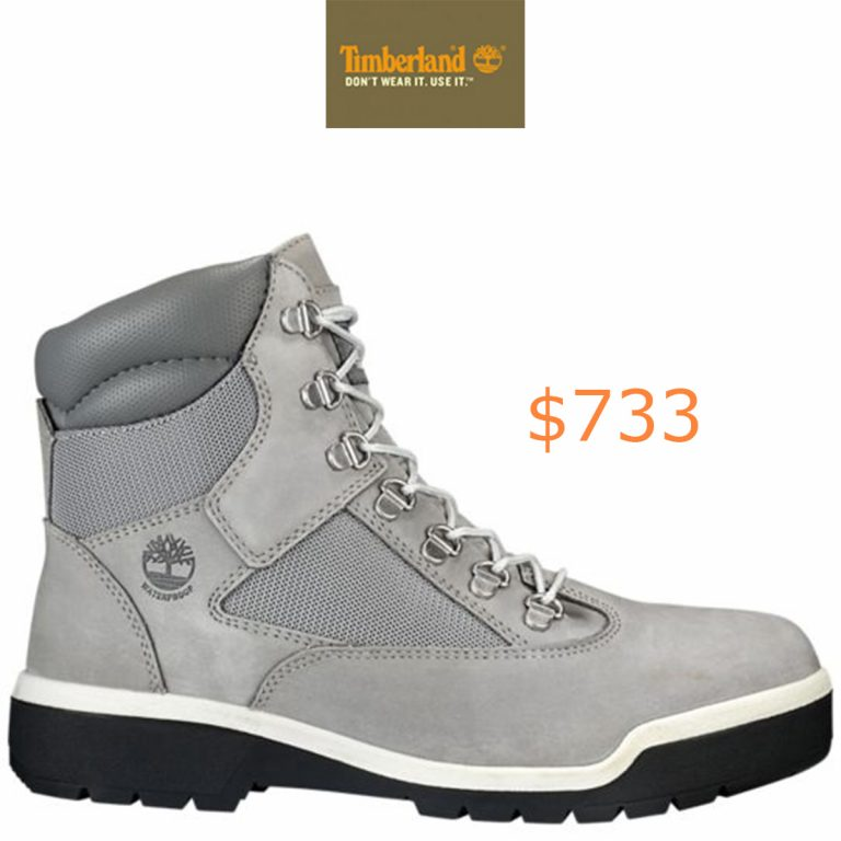 733Timberland - Men's Waterproof 6-Inch Field Boots