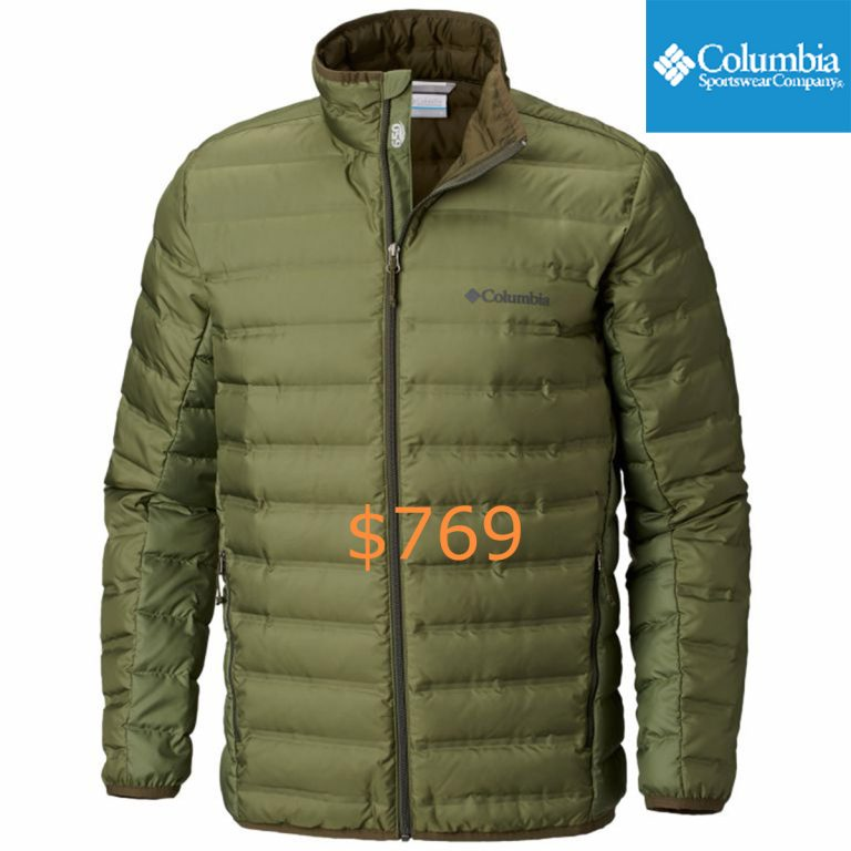 769Men's Lake 22 Down Insulated Water-Resistant Puffy