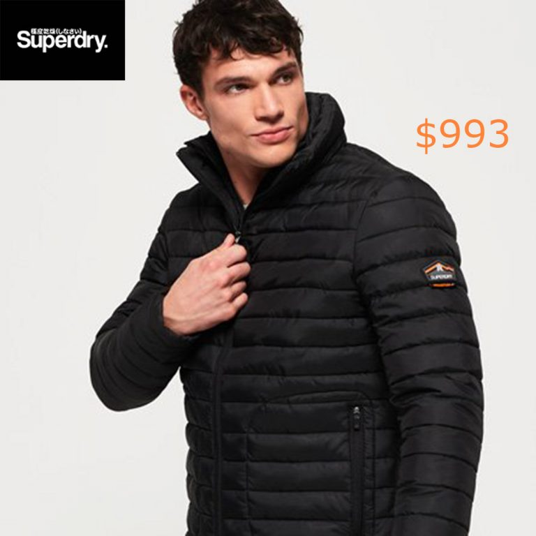993Superdry Fuji Double Zip Jacket