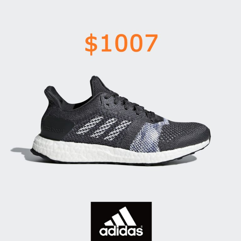 1007adidas Ultraboost ST Shoes - Grey