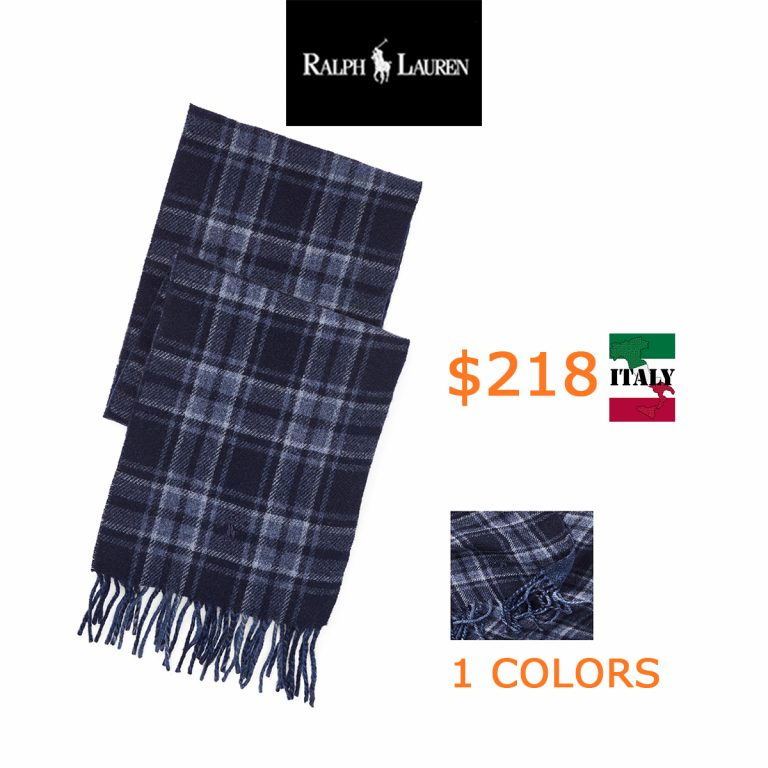 218Reversible Plaid Scarf