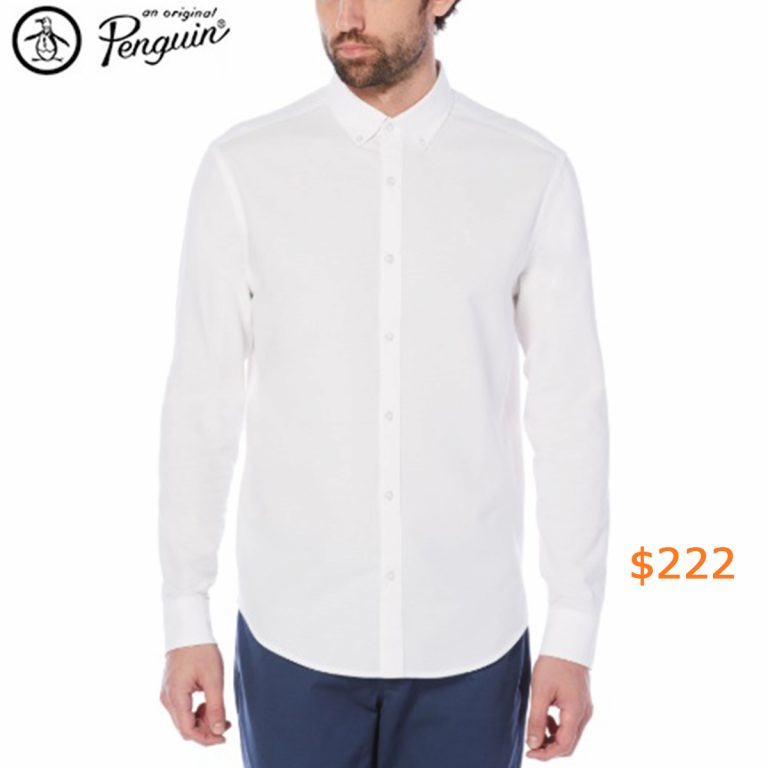 222CLASSIC FIT OXFORD SHIRT