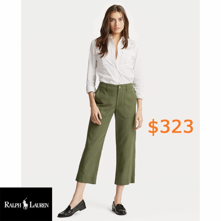 323Straight Stretch Cotton Pant