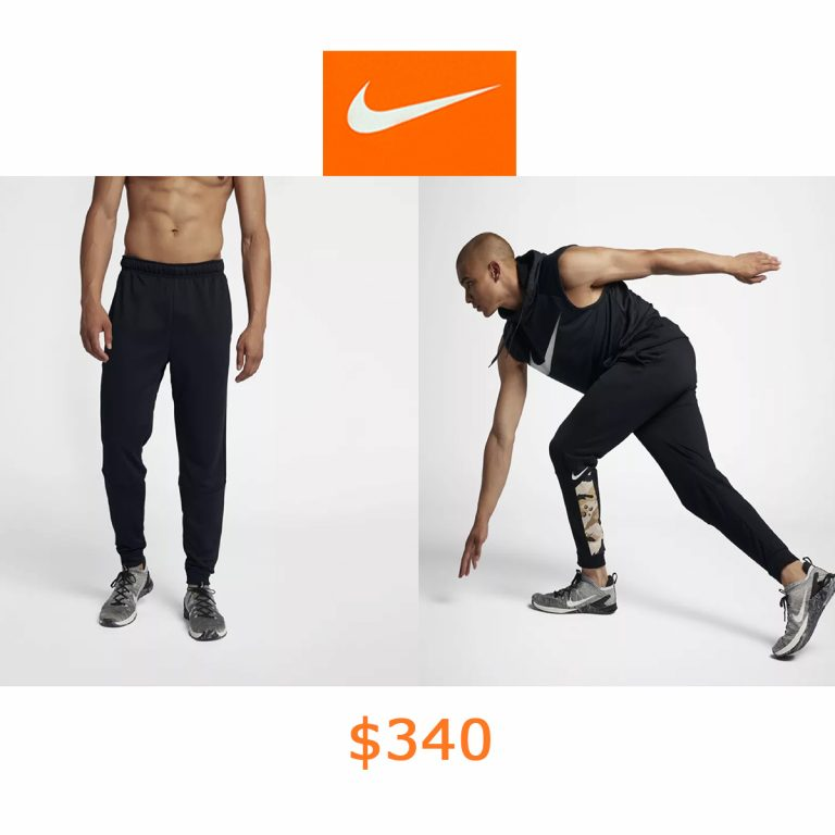 340Nike Dri-FIT Men's Tapered Camo Training Pants
