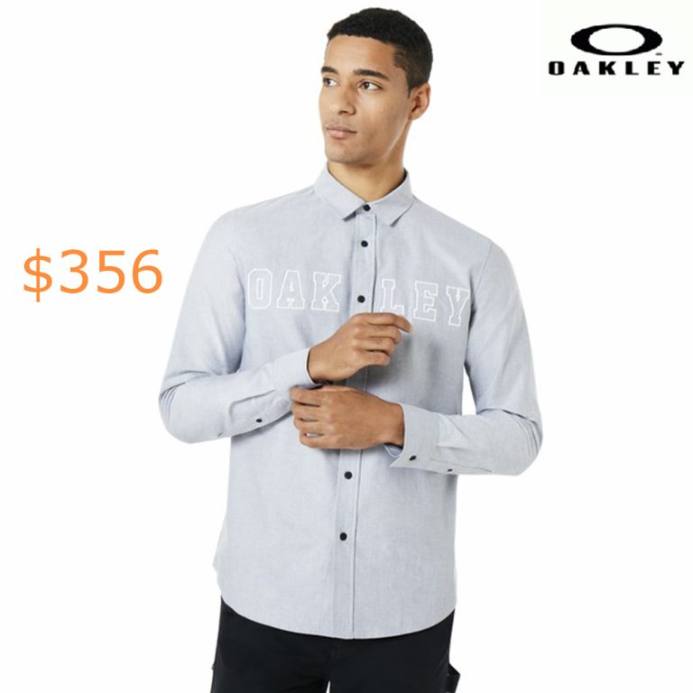 356Oakley Icon Oxford Logo LS Shirt
