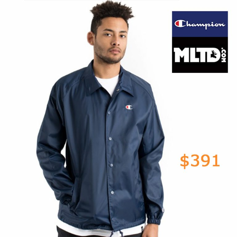 391Champion LIFE, West Breaker Coaches Jacket