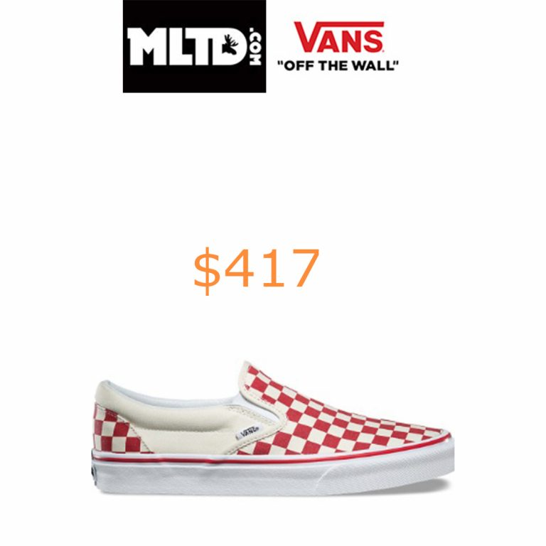 417Vans, (8F7P0T) Primary Check Classic Slip-On Shoe