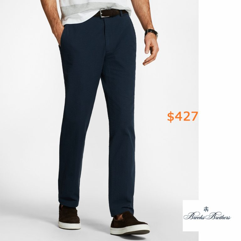 427Clark Fit Seersucker Pants