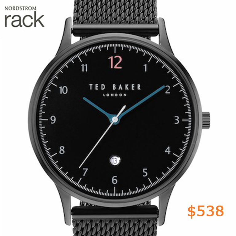 538Ted Baker London - Men's Ethan Mesh Strap Watch