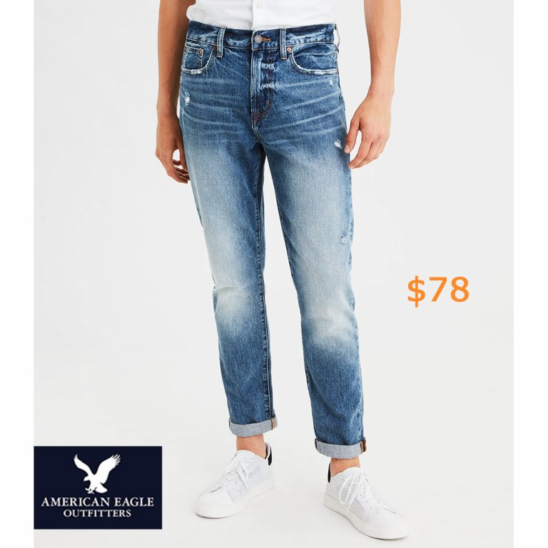 78Dad Jean, Medium Indigo