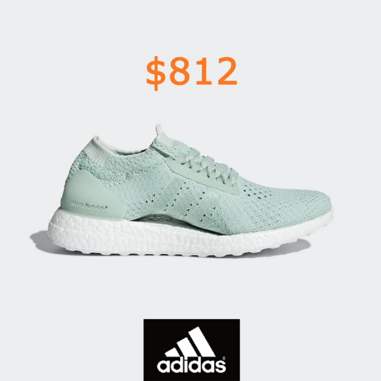 812adidas Ultraboost X Clima Shoes - Green