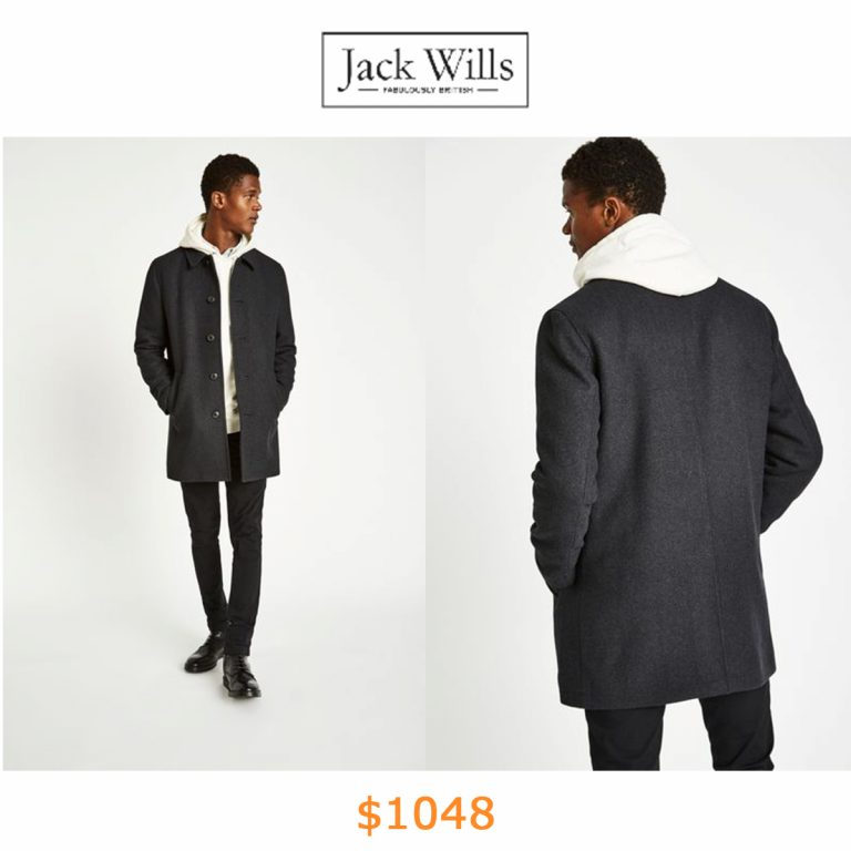 1048ELMWOOD WOOL OVERCOAT