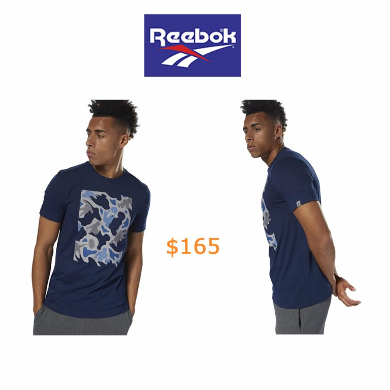 165Reebok Training Camo Tee