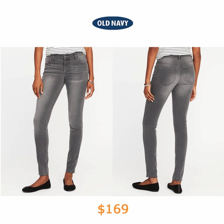 169Mid-Rise Super Skinny Jeans
