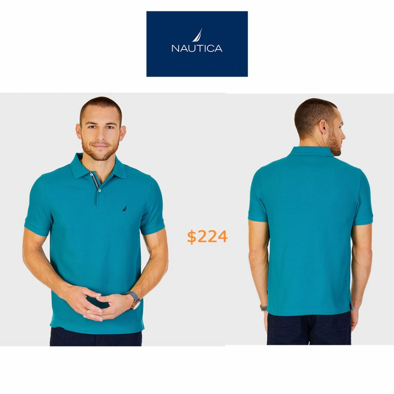 224Short Sleeve Slim Fit Performance Tech Polo