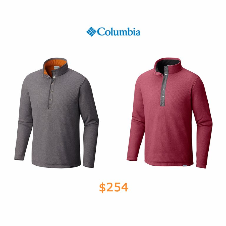 254Men's Park Range Insulated Wicking Fleece Pull Over Long Sleeve Shirt