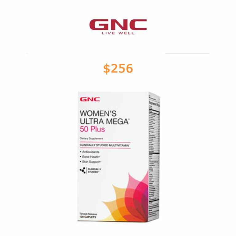 256GNC Women's Ultra Mega 50 Plus Multivitamin 120ct