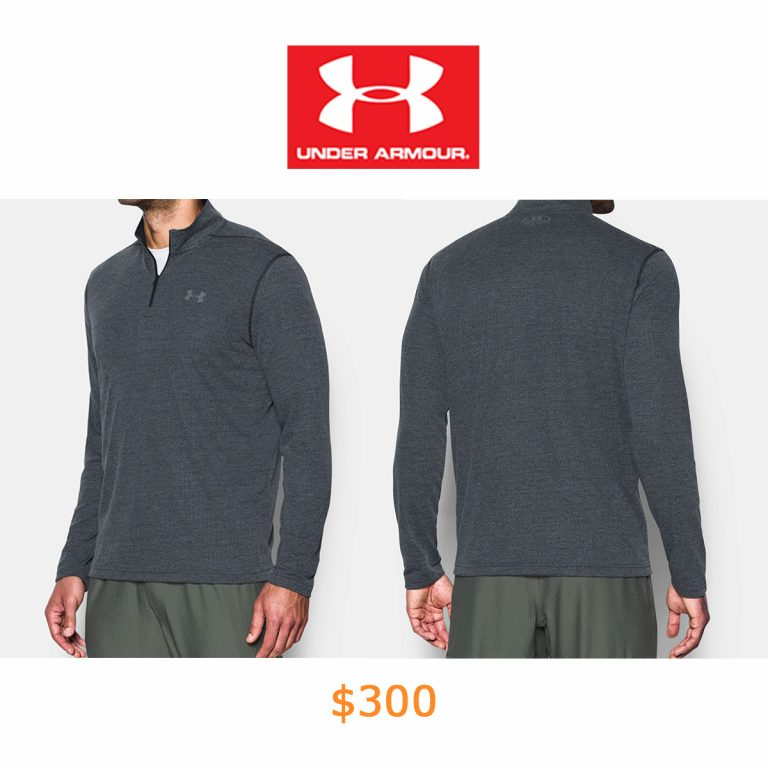 300Men's UA Threadborne Siro ¼ Zip