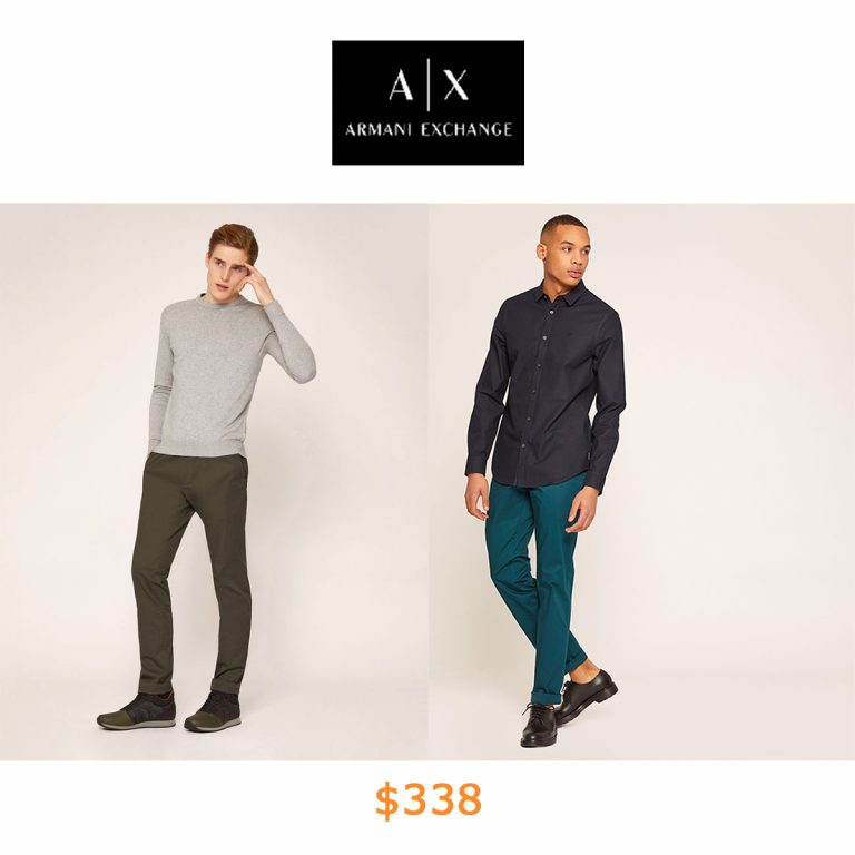 338CLASSIC SLIM FIT CHINO PANTS