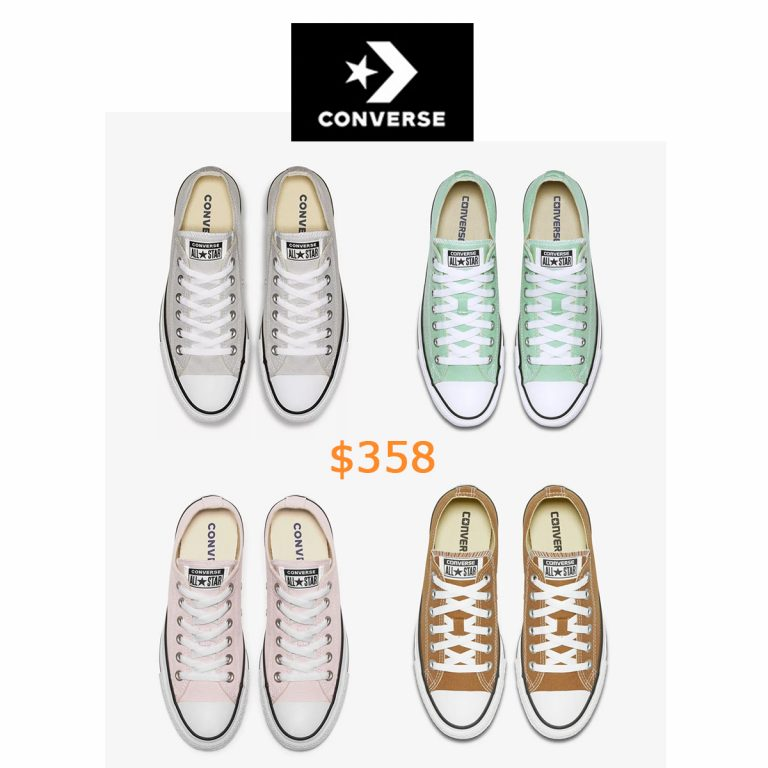358Converse Chuck Taylor All Star Seasonal Colors Low Top Unisex Shoe