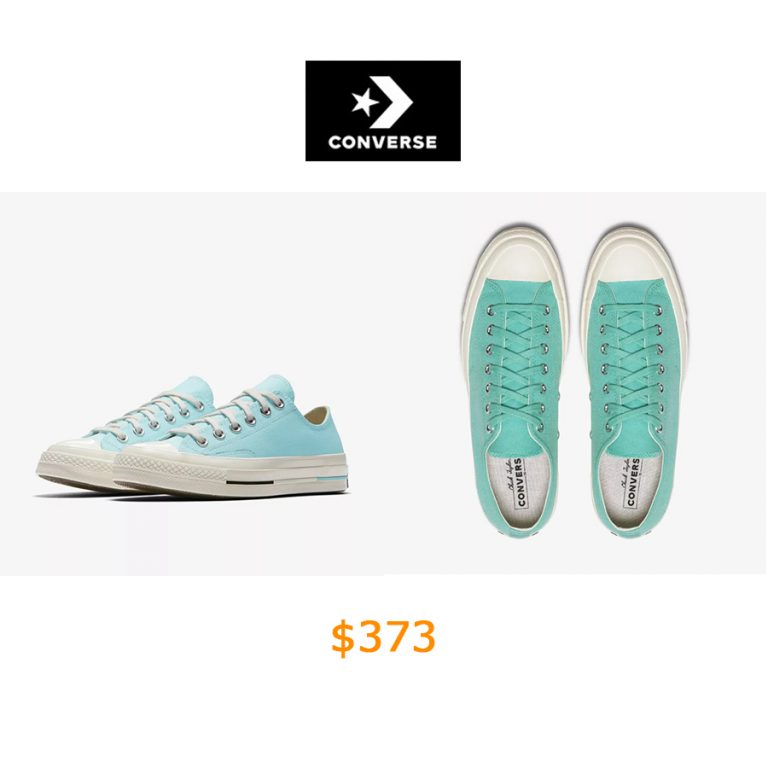 373Converse Chuck 70 Canvas Brights Low Top Unisex Shoe