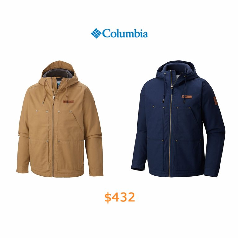 432Men's Loma Vista Hooded Fleece-Lined Jacket