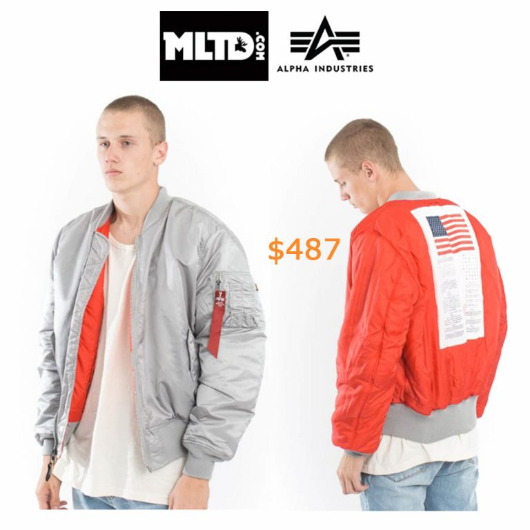 487Alpha Industries, MA-1 Blood Chit Jacket