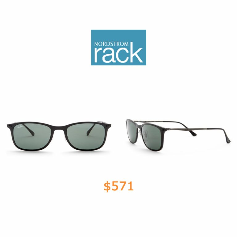571Ray-Ban - Light Ray 52mm Rectangle Sunglasses