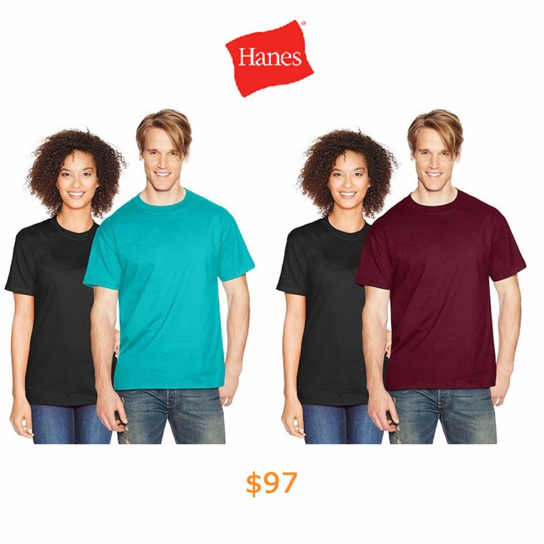 97Hanes Beefy-T Adult Short-Sleeve T-Shirt