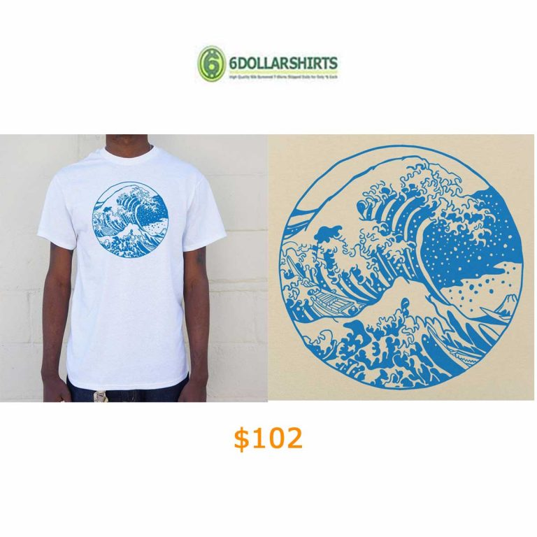 102Great Wave T-Shirt