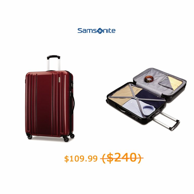109.99-240Samsonite Carbon 2 28- Spinner
