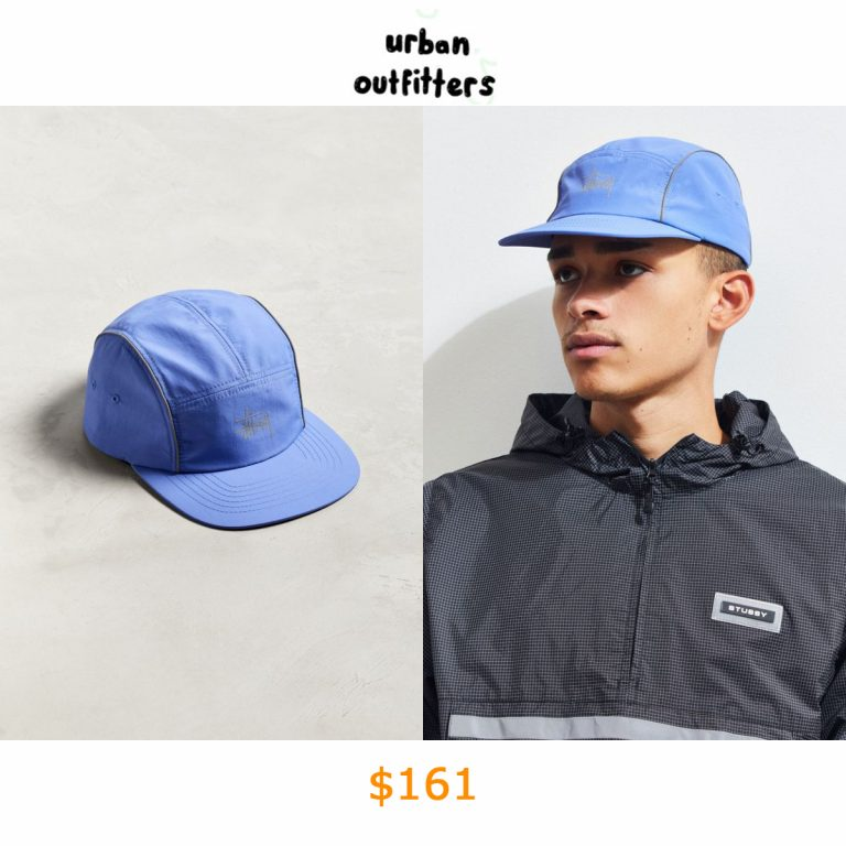 161Stussy Reflective 5-Panel Baseball Hat