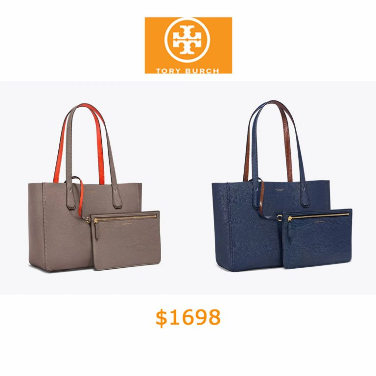 1698Tory Burch Perry Reversible Mini Tote
