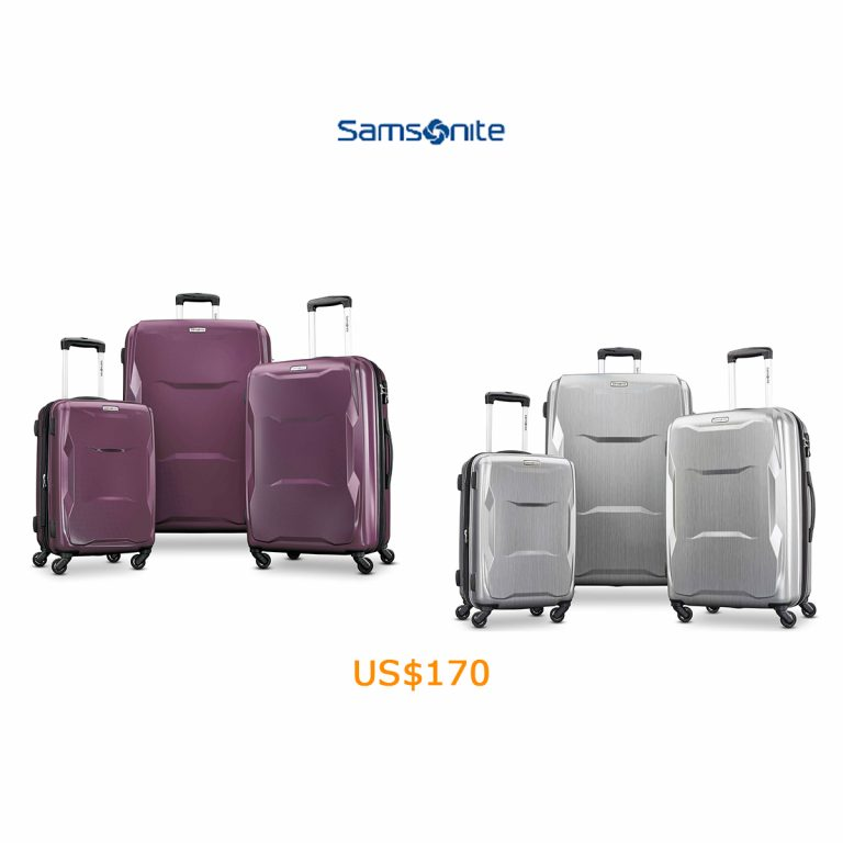 170Samsonite Pivot 3 Piece Set