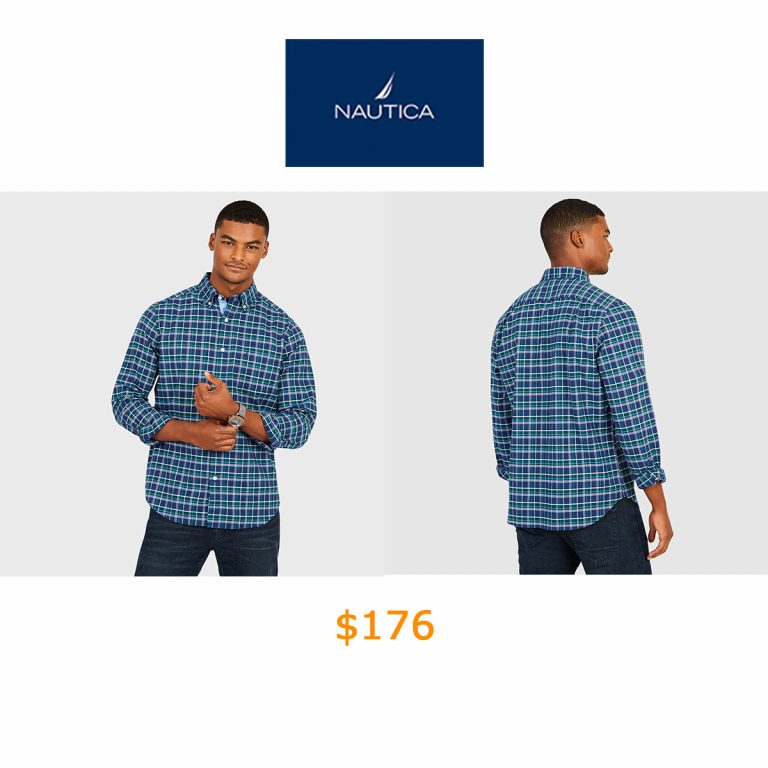 176Multi-Plaid Long Sleeve Classic Fit Shirt