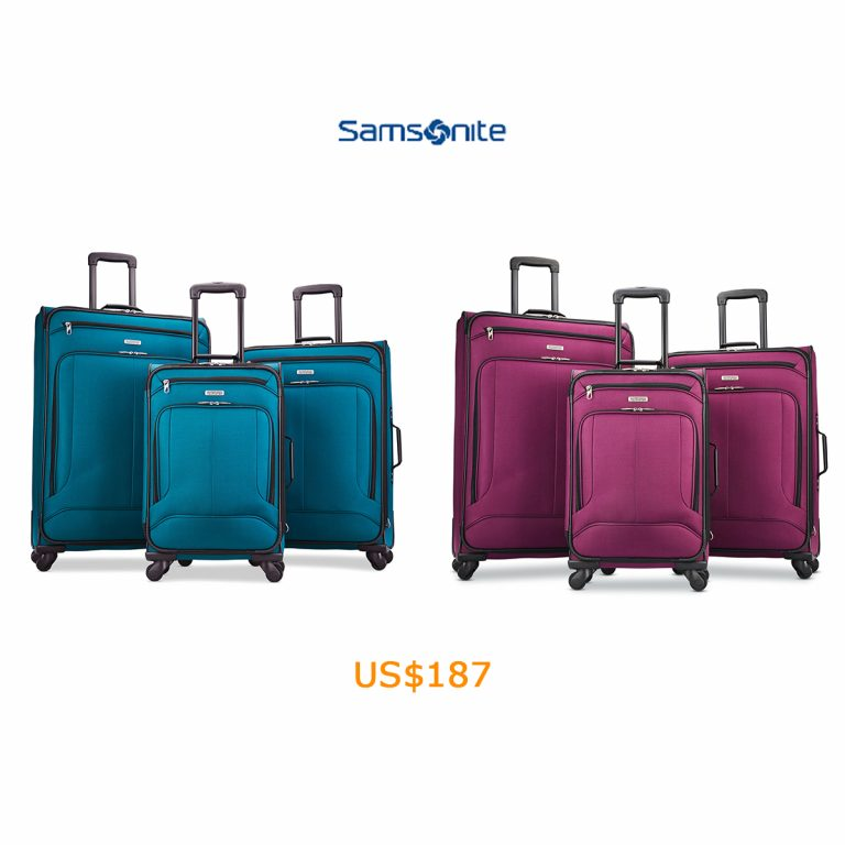 187American Tourister Pop Max 3PC Set