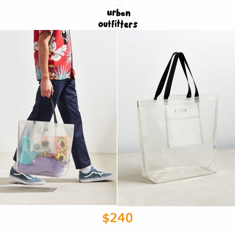 240UO Clear Tote Bag