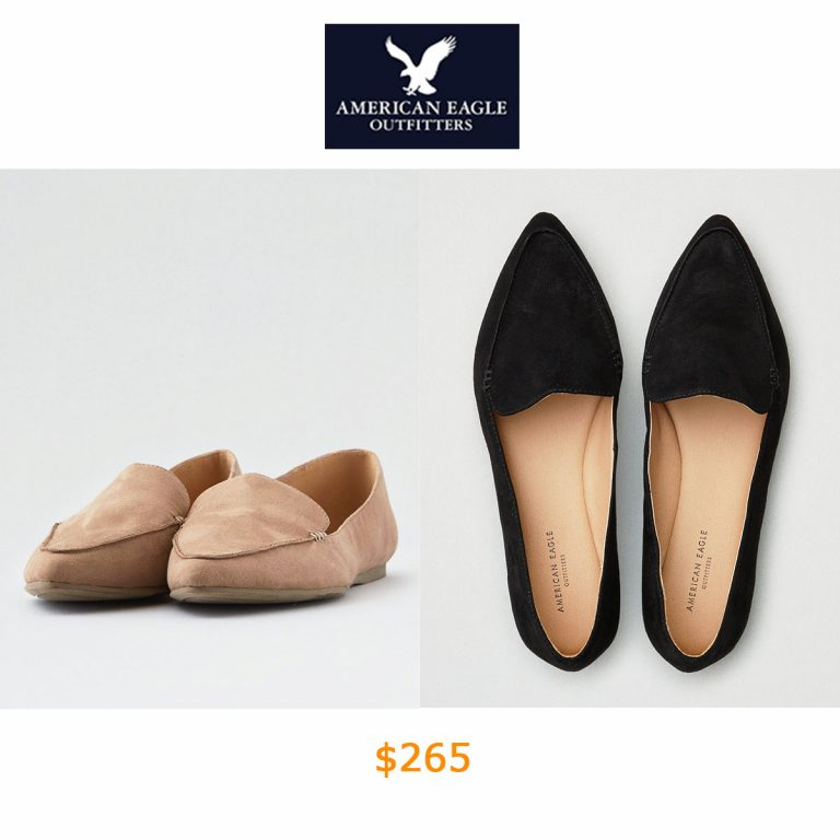 265AEO Pointed Toe Flat