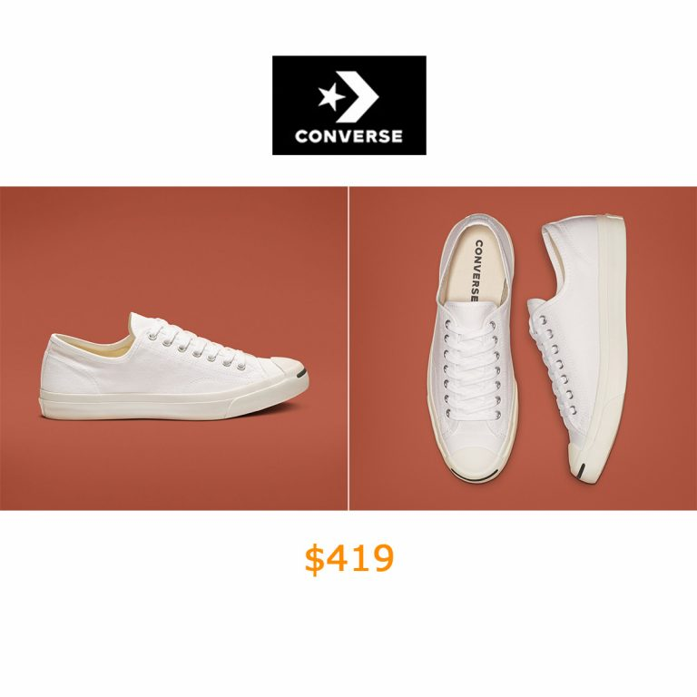 419Jack Purcell Classic White Low Top Shoe