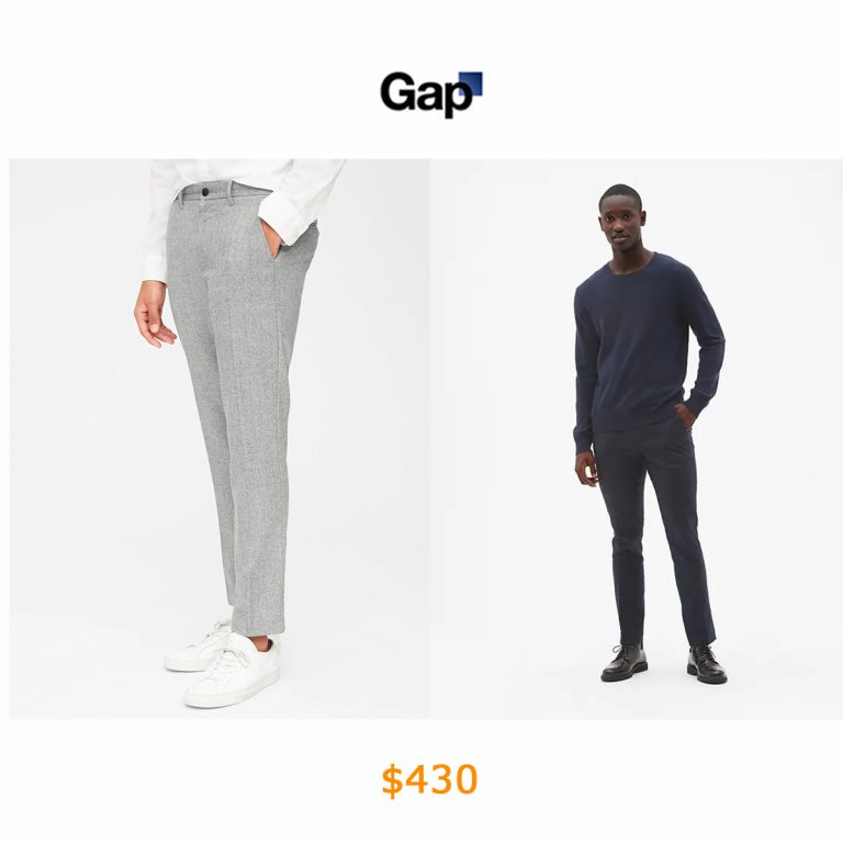430Wool Pants in Slim Fit with GapFlex