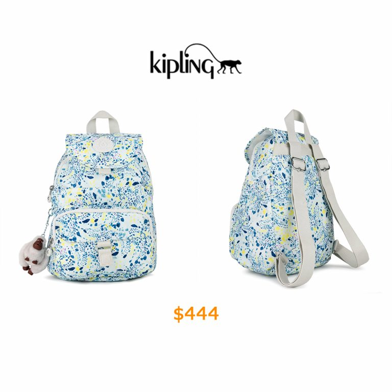 444Queenie Printed Small Backpack
