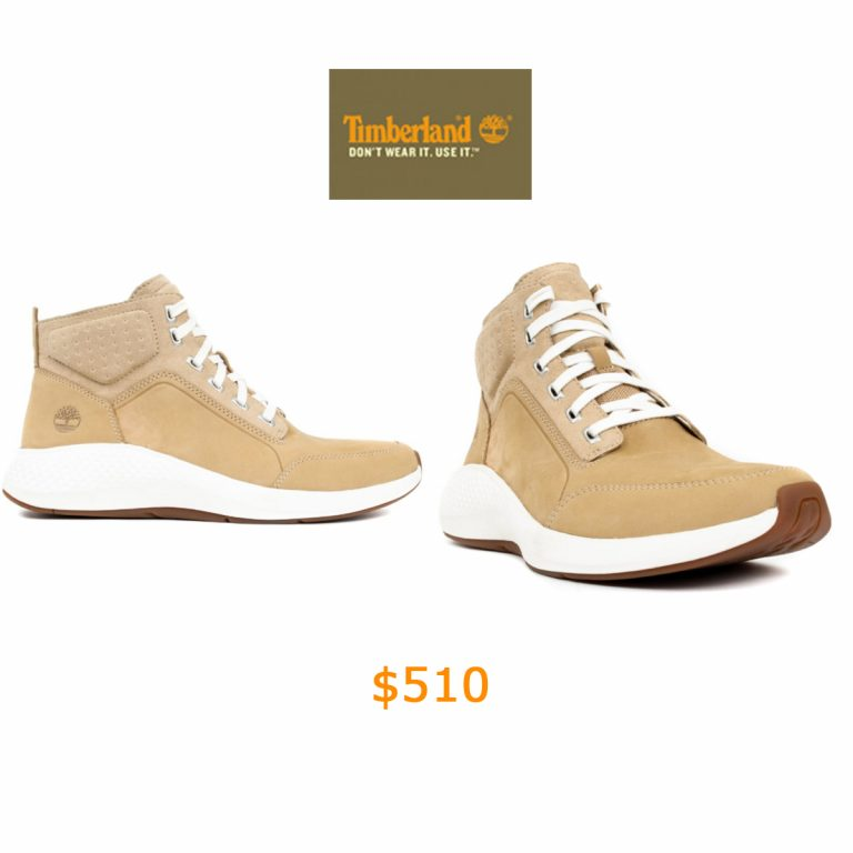 510Timberland, (TB0A1QG1) Flyroam Go Leather Chukka Boots - Light Tan