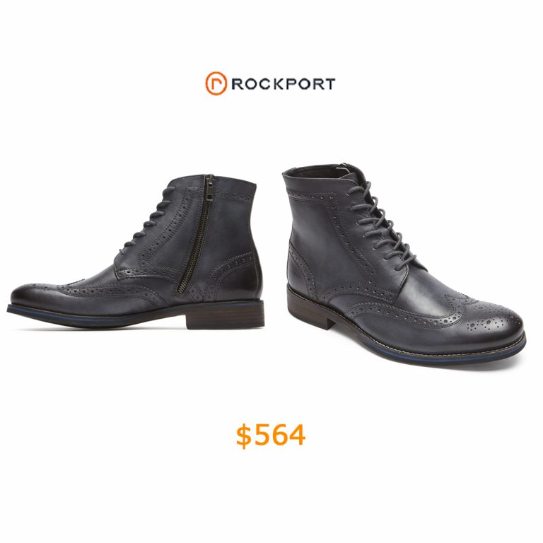 564Wyat Wingtip Boot