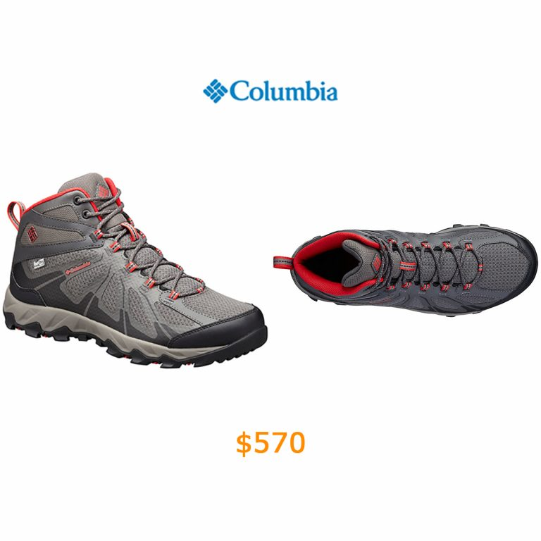 570Columbia - Men's Peakfreak XCRSN II XCEL Mid OutDry Waterproof Trail Shoe