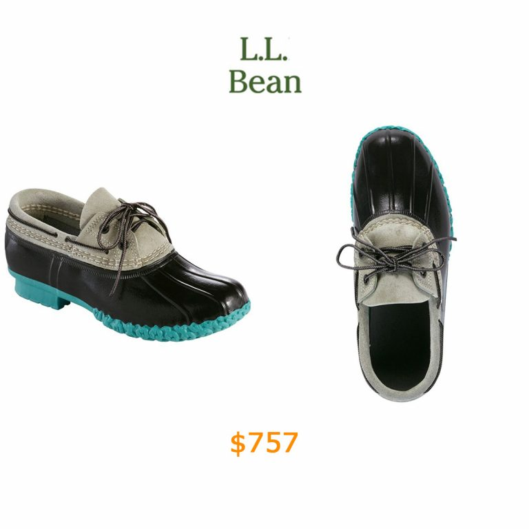 757L.L.Bean Boots, Two-Eye Boat Gumshoes