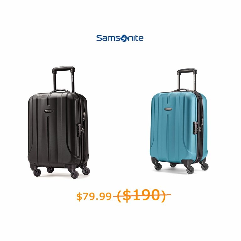 79.99-190Samsonite Fiero 20- Spinner