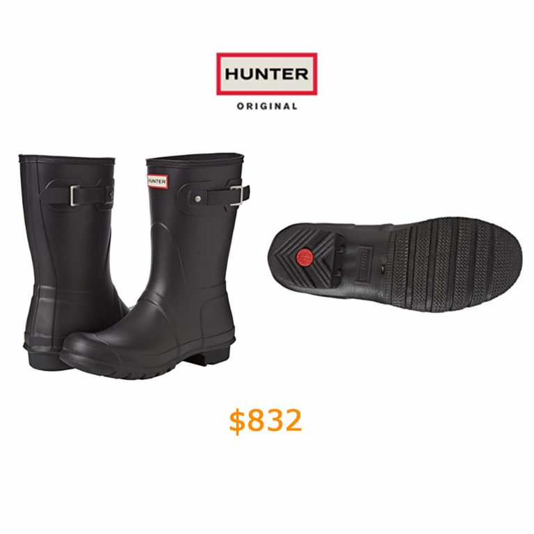 832Hunter Original Short, Women Rain Boots-