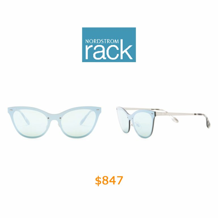 847Ray-Ban - 153mm Cat Eye Shield Sunglasses