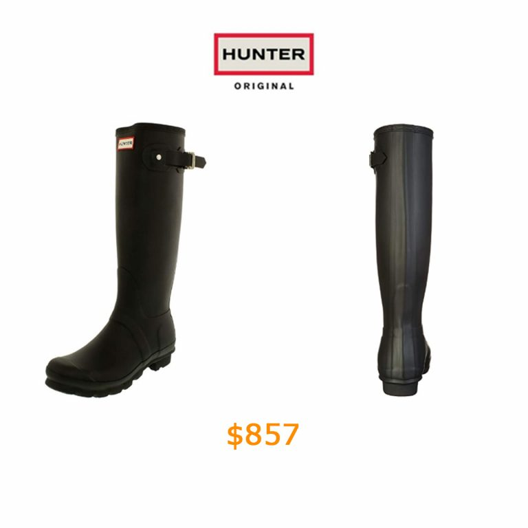 857Hunter Women's's WOMENS ORG TALL Warm Lining Rain Boots