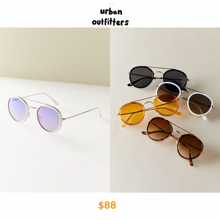 88Riley Round Aviator Sunglasses